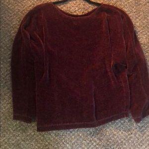 Purple sweater!